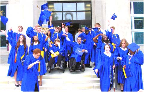 Photo of 2008 graduation